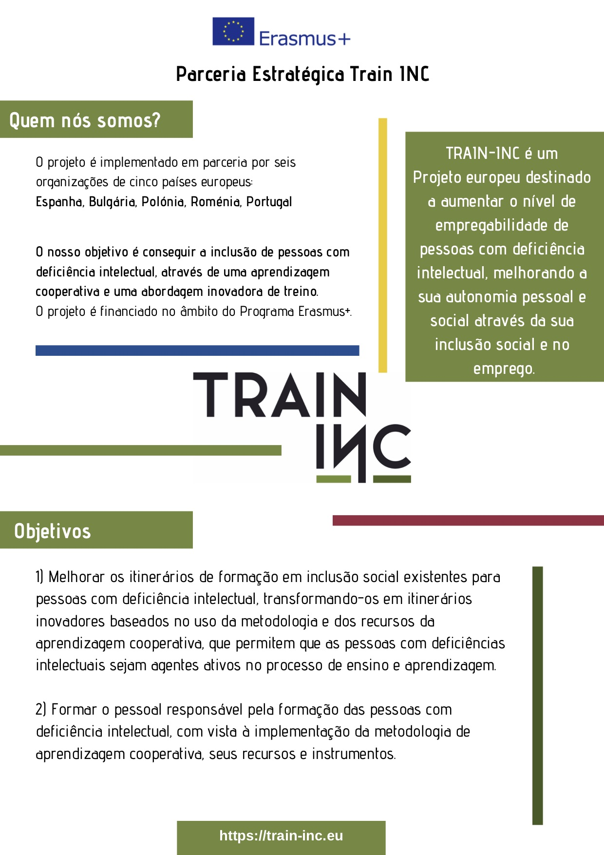 TRAIN-INC | ERASMUS +