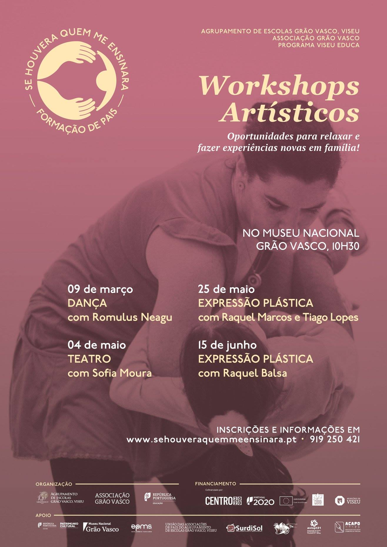 Workshop de teatro no Museu Nacional Grão Vasco