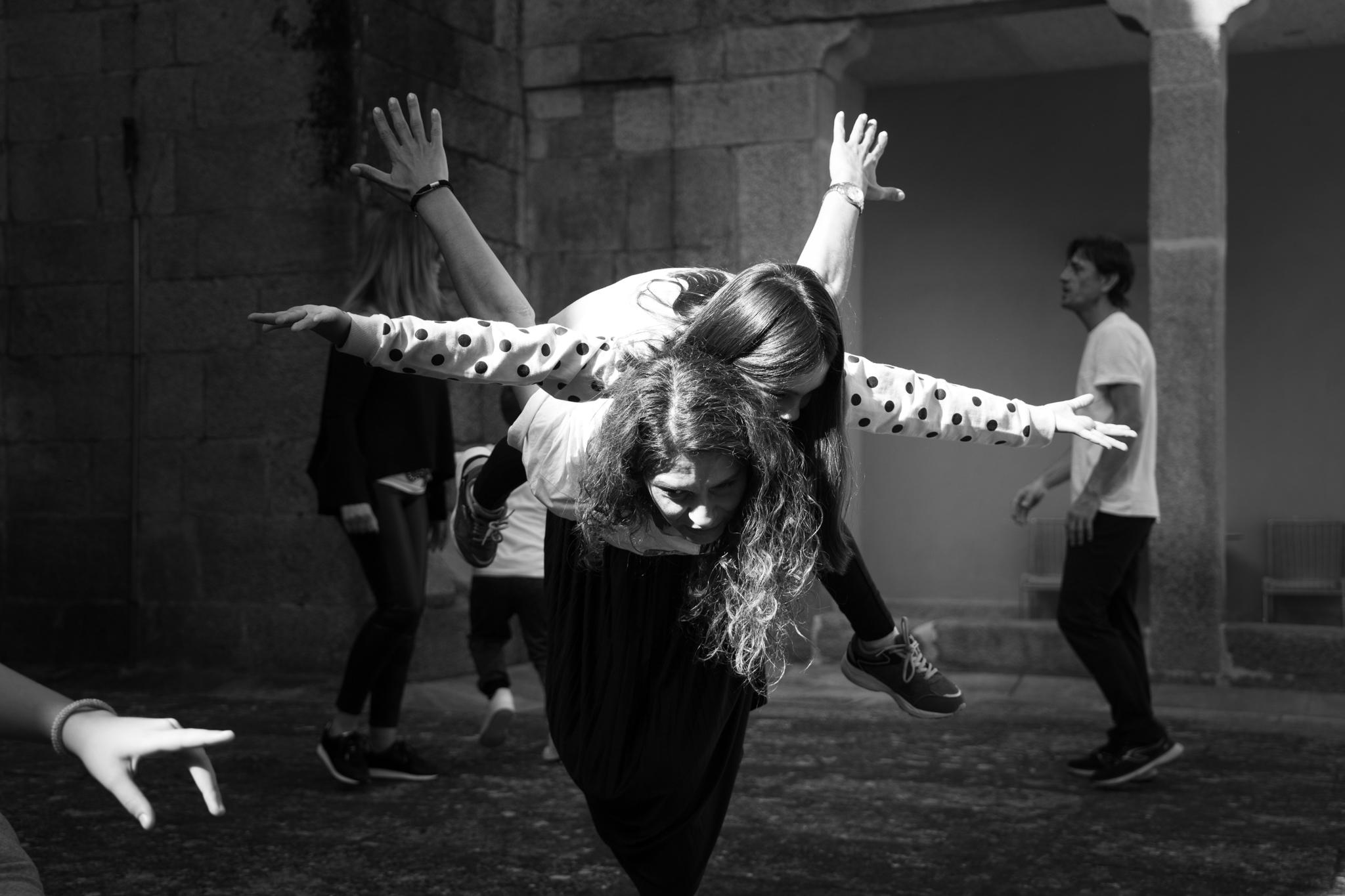 Reportagem fotográfica do Workshop Artístico de Dança do dia 12 de outubro de 2019