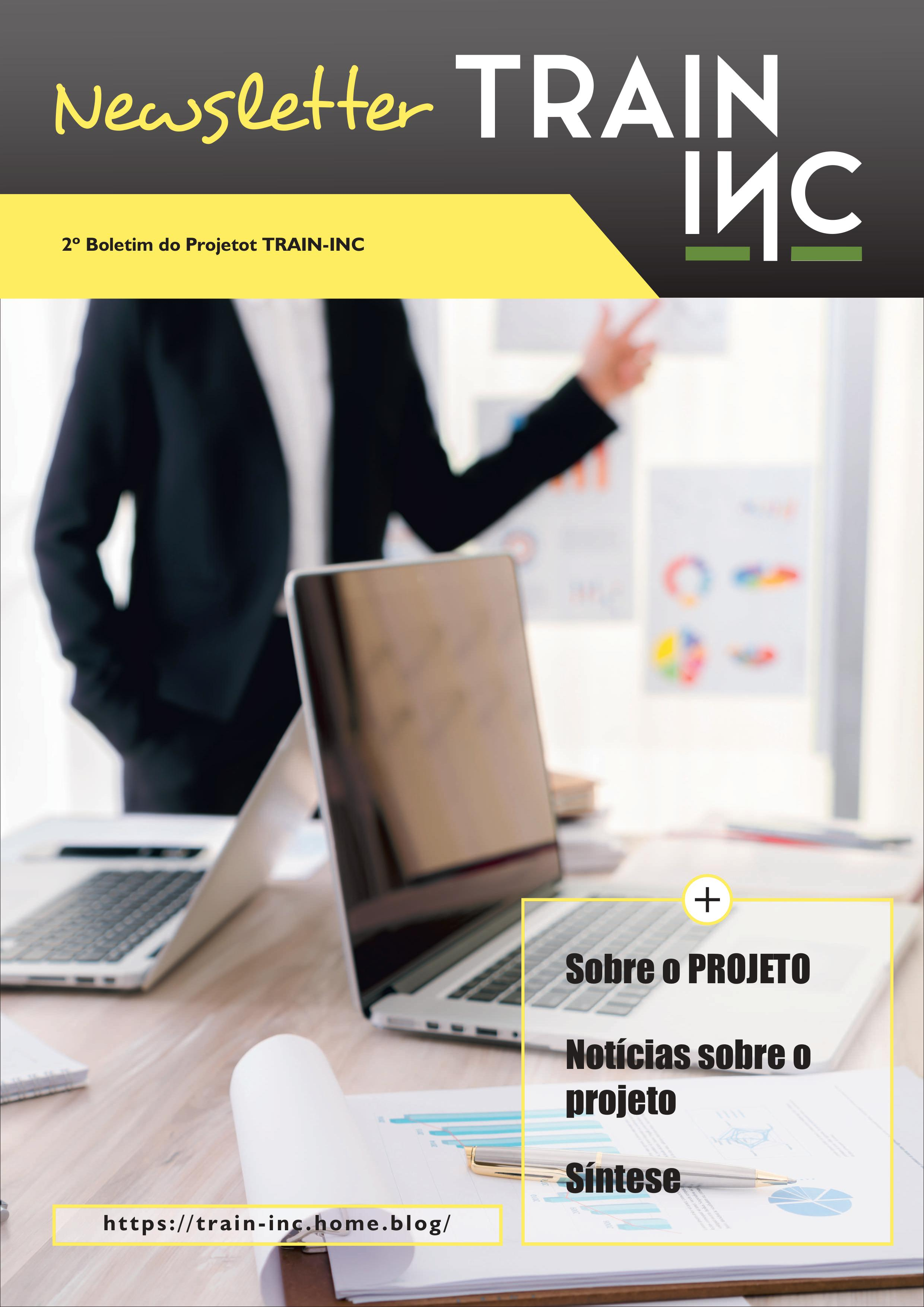 2º Newsletter do Projeto Train-Inc